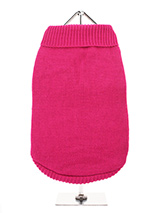 Bruiser's Pink Knitted Sweater - The Pink Knitted Turtle Neck Sweater as worn by Bruiser the Chihuahua in Legally Blonde The Musical is currently touring the UK and Ireland and is coming to a town near you soon. Bruiser's Pink Knitted soft roll-neck sweater is easy to put on and take off your dog and is a very neat fit with its ela...